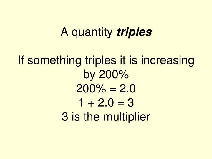 A quantity