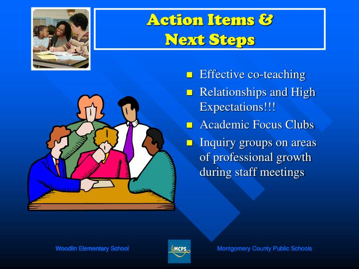 Action Items &