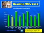 reading msa 2012