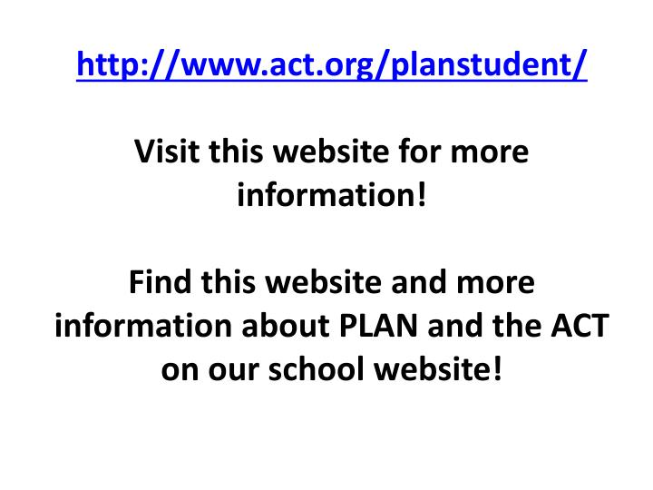 http://www.act.org/planstudent