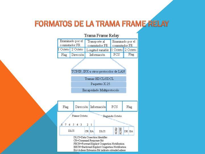 FORMATOS DE LA TRAMA FRAME RELAY