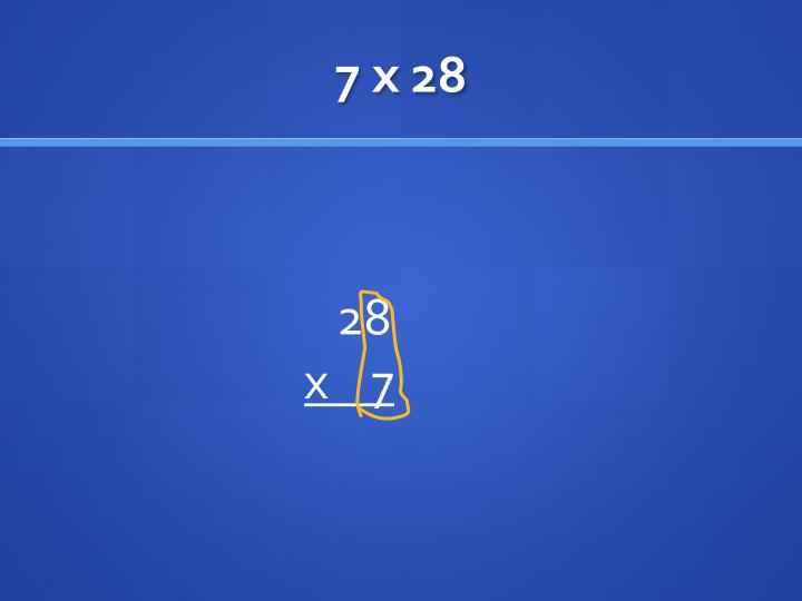 7 x 28