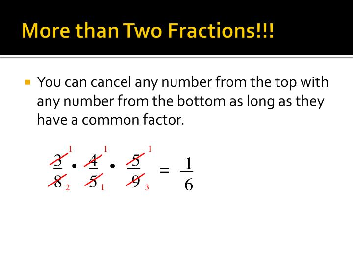 More than Two Fractions!!!