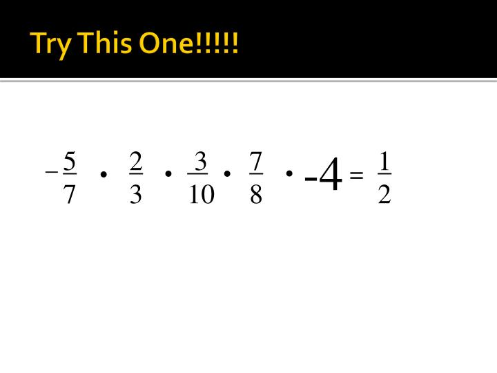 Try This One!!!!!