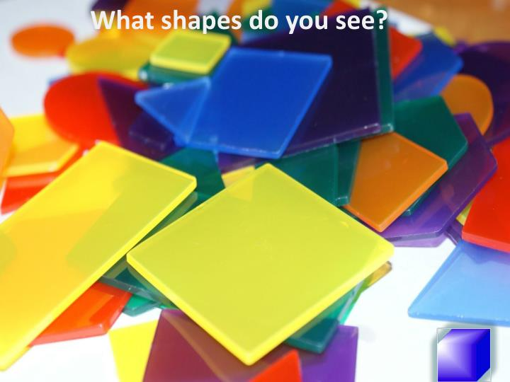 What shapes do you see?
