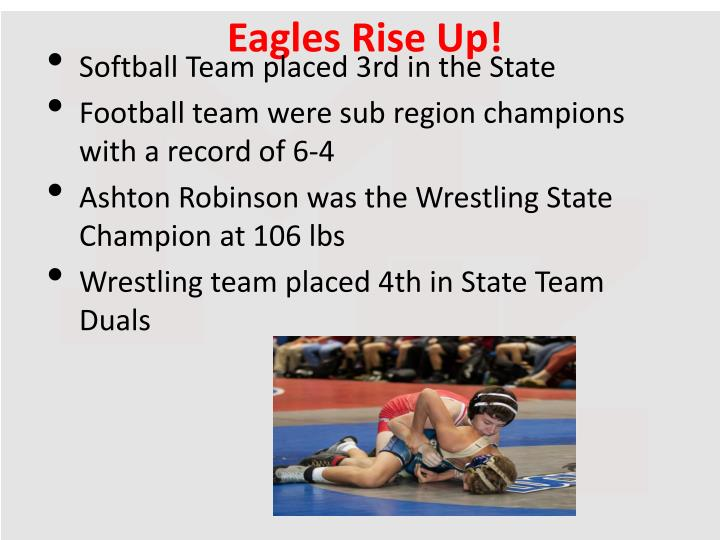 Eagles Rise Up!
