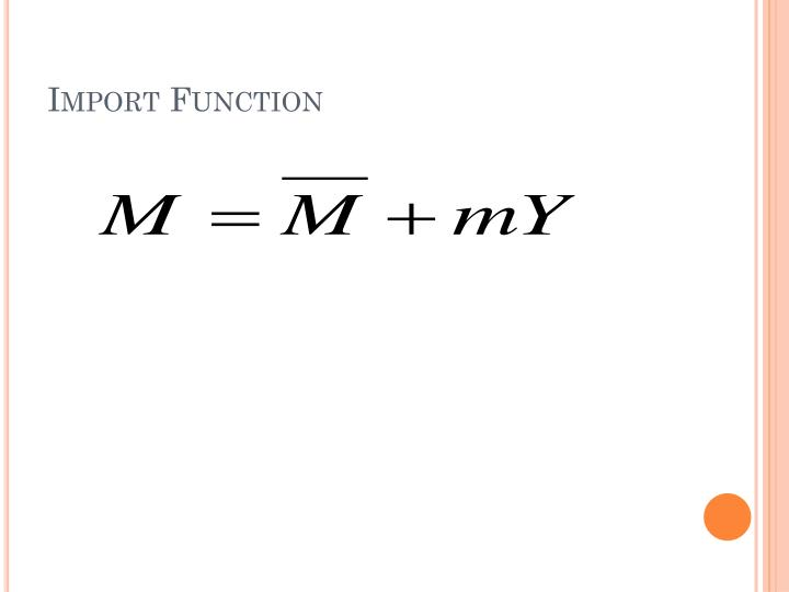 Import Function