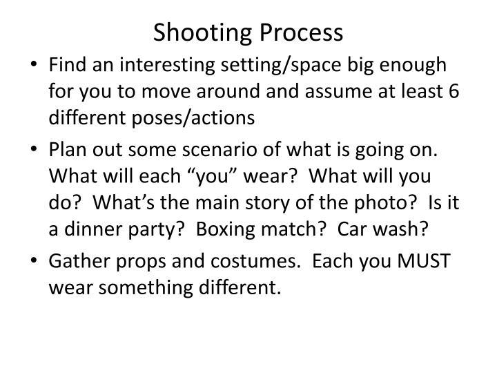Shooting Process