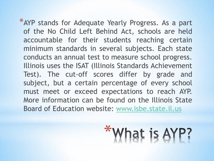 What is ayp