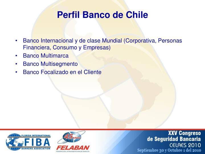 Perfil Banco de Chile
