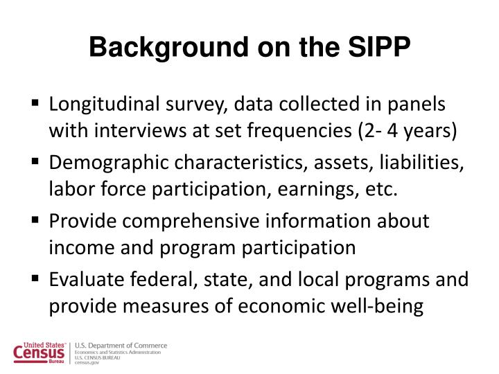Background on the sipp