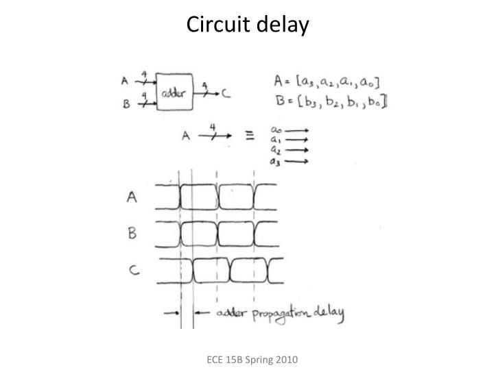 Circuit delay