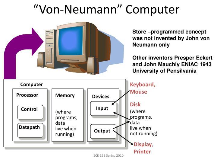 """""""Von-Neumann"""" Computer"""
