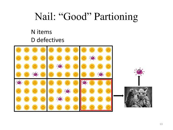 """Nail: """"Good"""""""