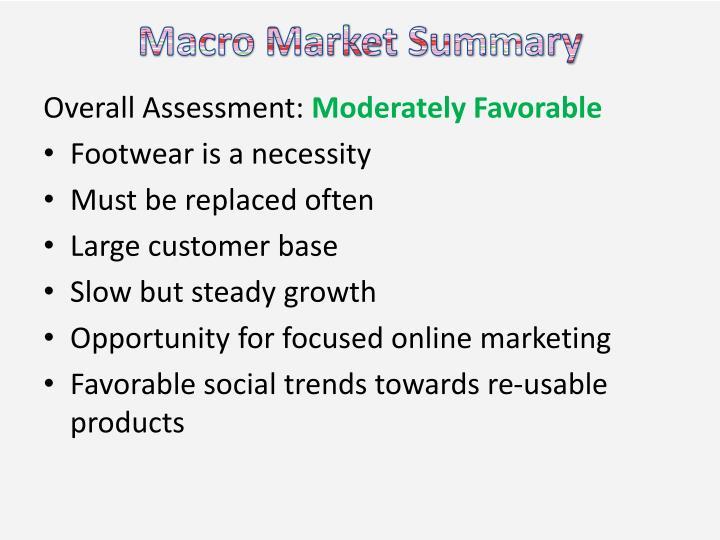 Macro Market Summary