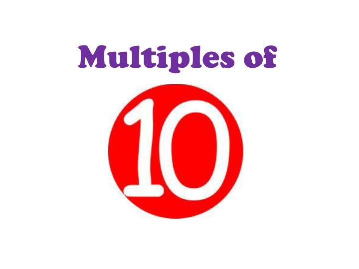 Multiples of