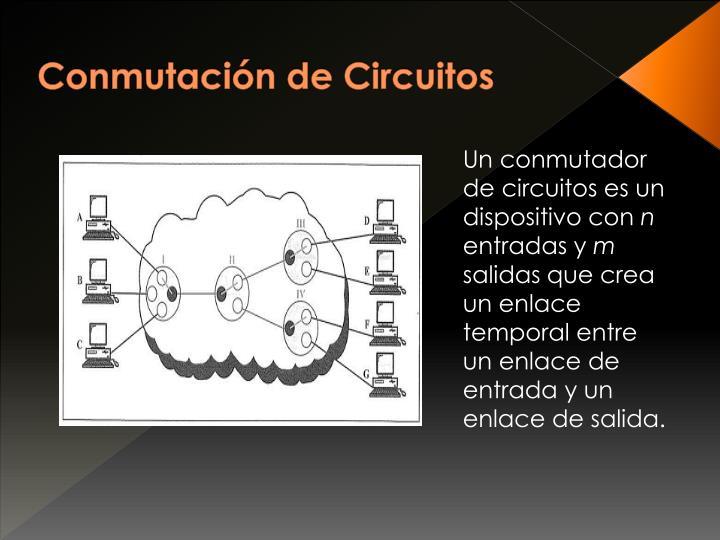 Conmutación de Circuitos