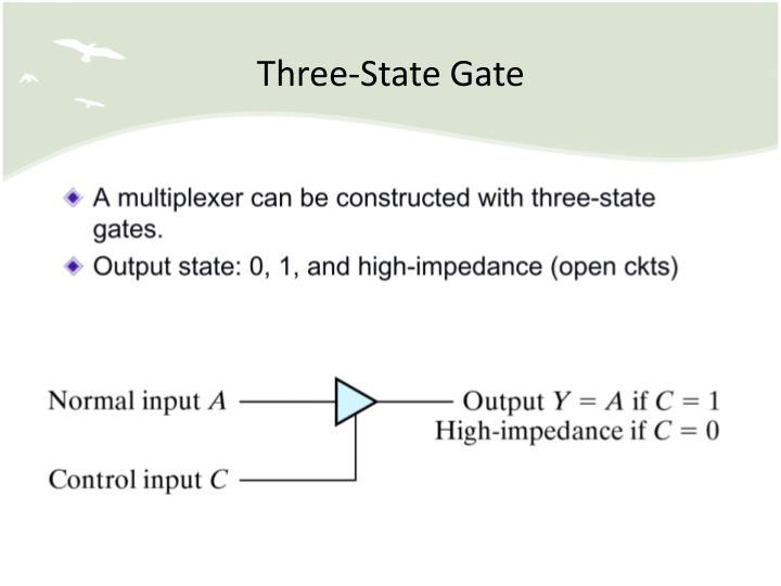Three-State Gate