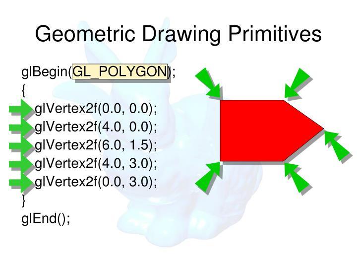 Geometric Drawing Primitives