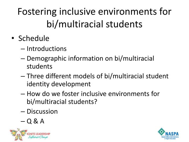 Fostering inclusive environments for bi multiracial students1