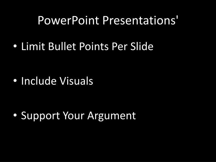 PowerPoint Presentations'