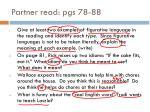 partner read pgs 78 88
