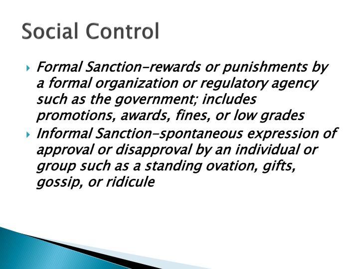 Social Control