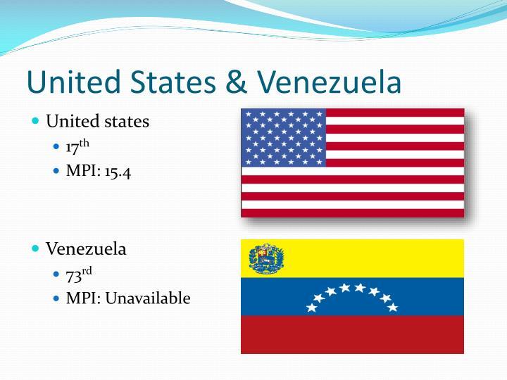 United States & Venezuela