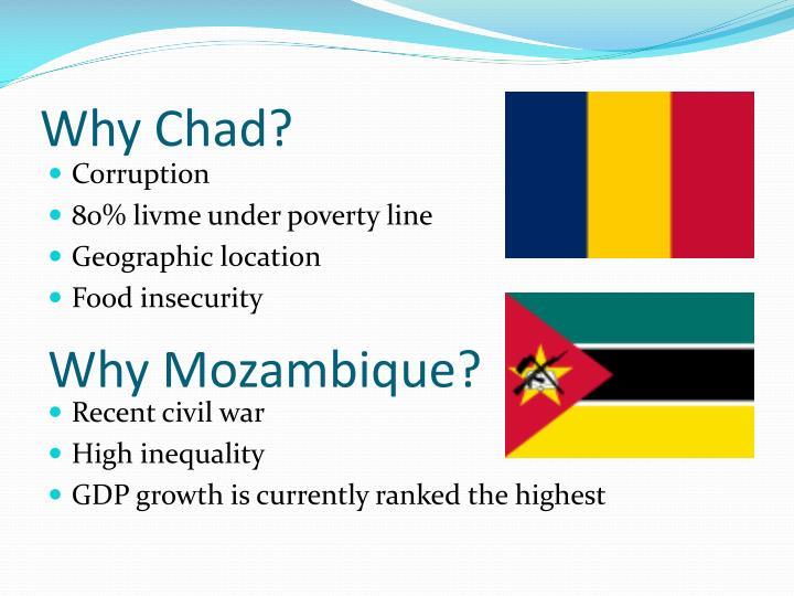 Why Chad?