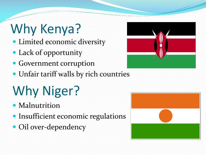 Why Kenya?
