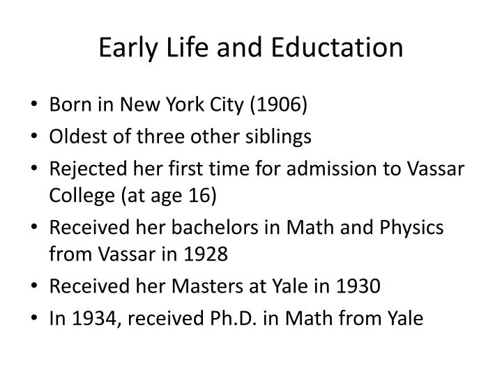 Early life and eductation