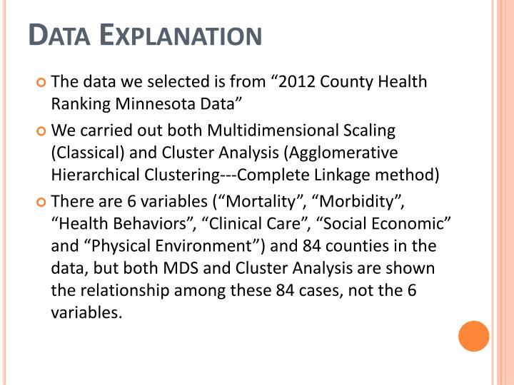 Data Explanation
