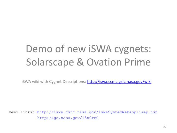 Demo of new