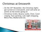 christmas at emsworth