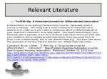 relevant literature2