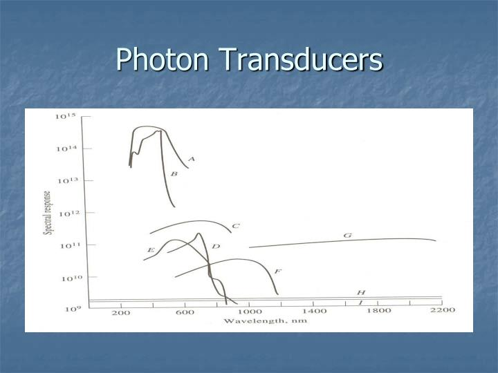 Photon Transducers