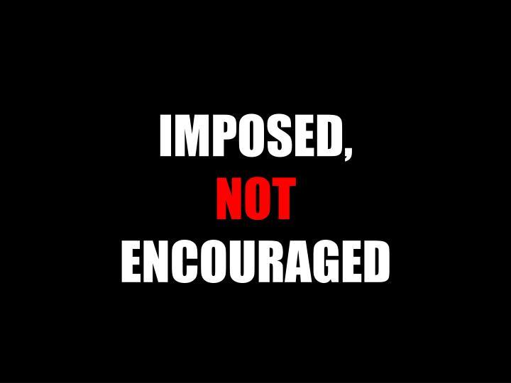 IMPOSED,