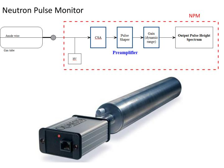 Neutron Pulse Monitor