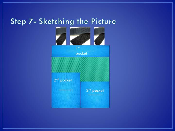 Step 7- Sketching the Picture