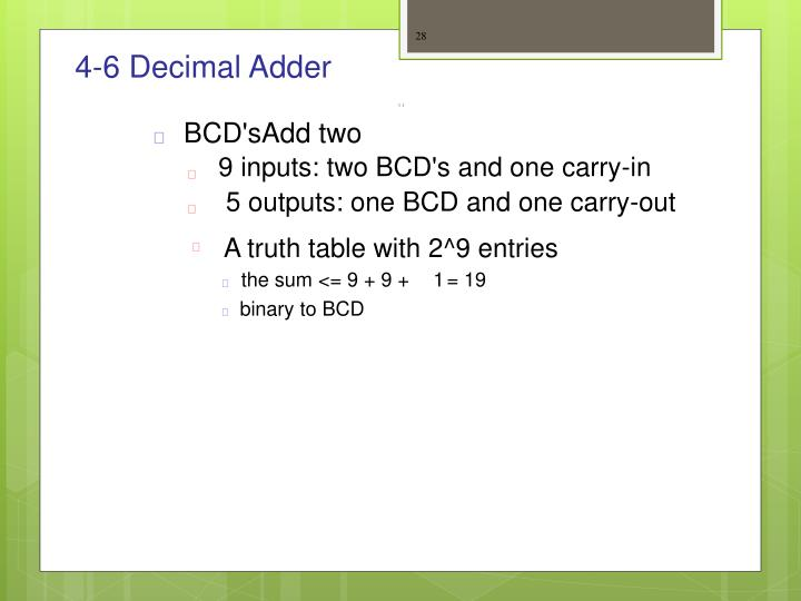 4-6 Decimal