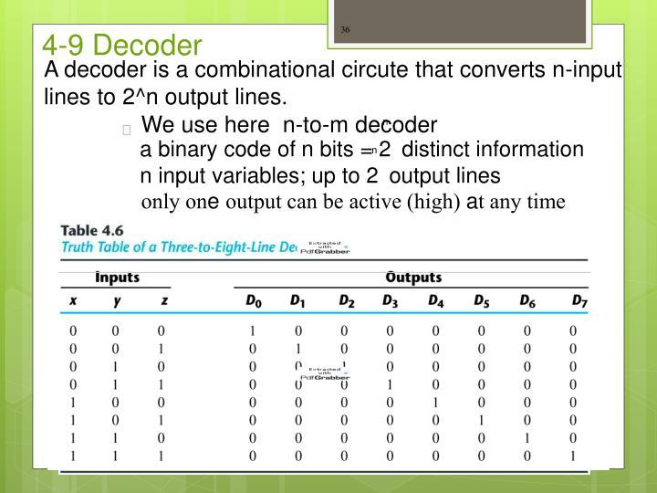 4-9 Decoder