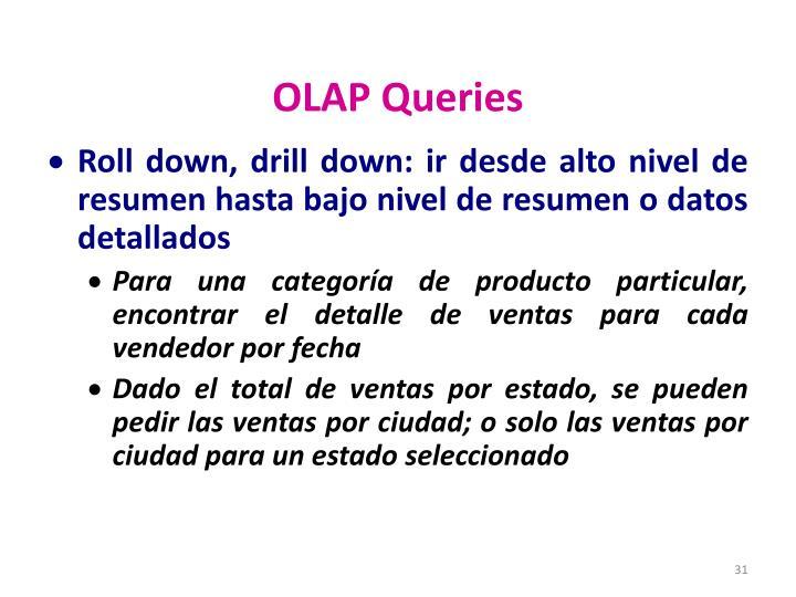 OLAP Queries
