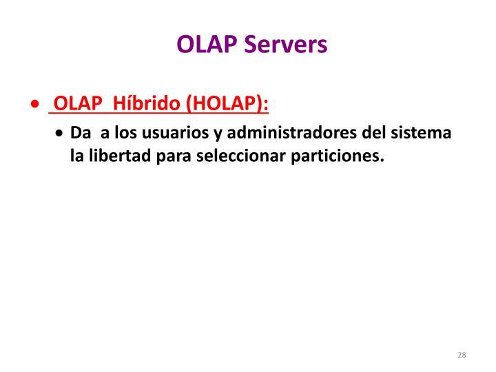 OLAP Servers