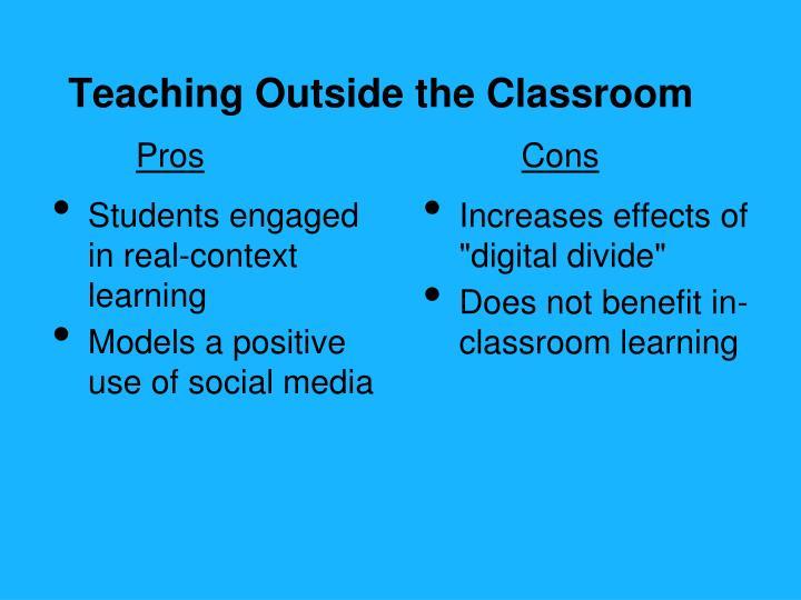 Teaching Outside the Classroom
