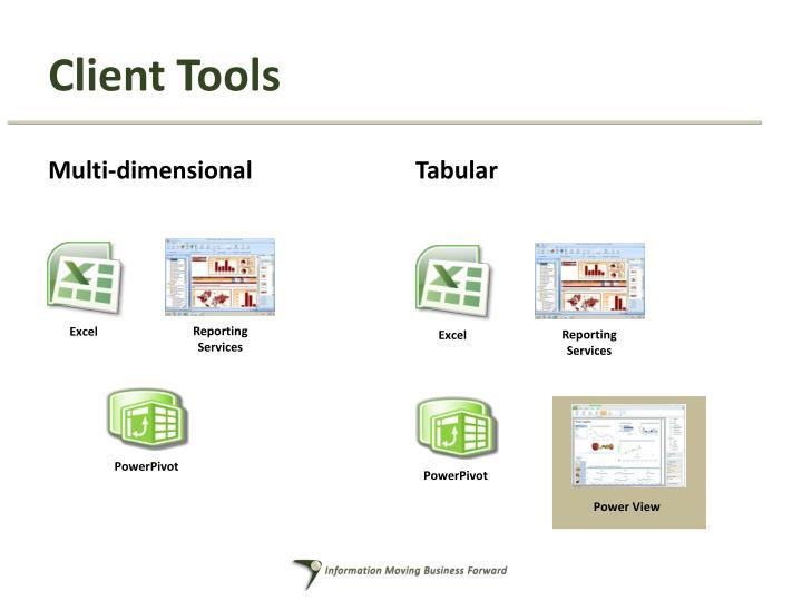 Client Tools