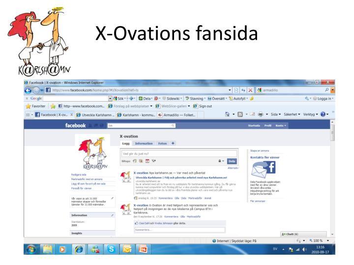 X-Ovations