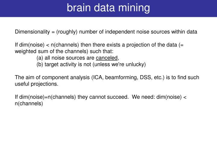 brain data mining