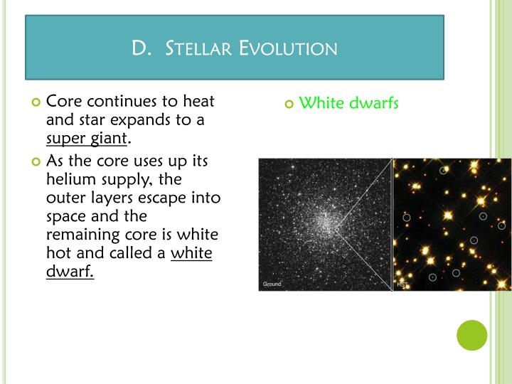 Core continues to heat and star expands to a