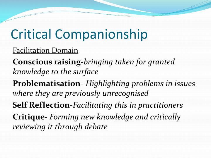 Critical Companionship
