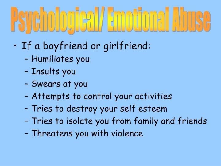 Psychological/